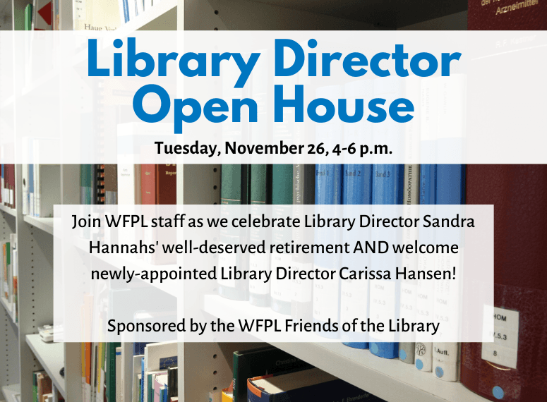 Library Director Open House