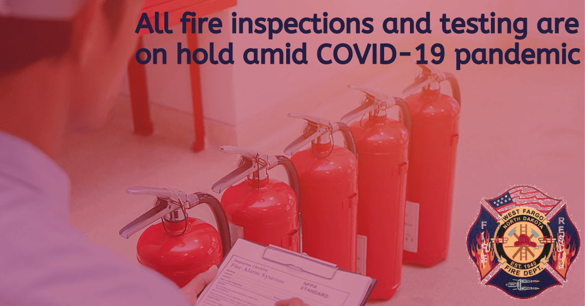 Fire testings and inspections