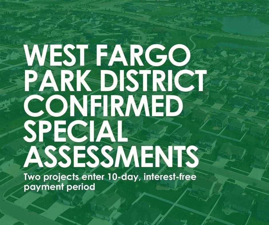 Confirmed WF Parks Special Assessments