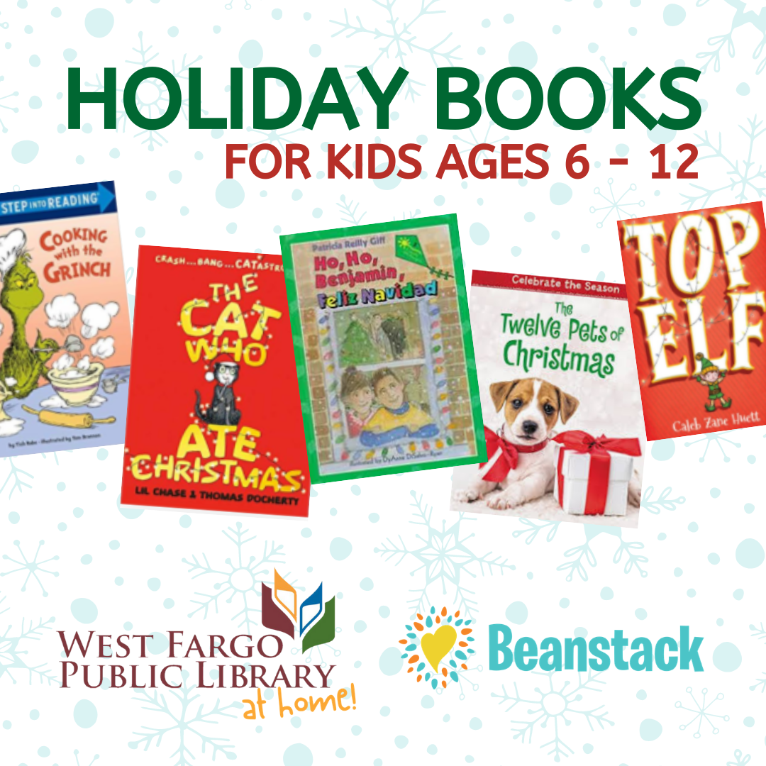 Holiday Book List for Kids 6 - 12 2020